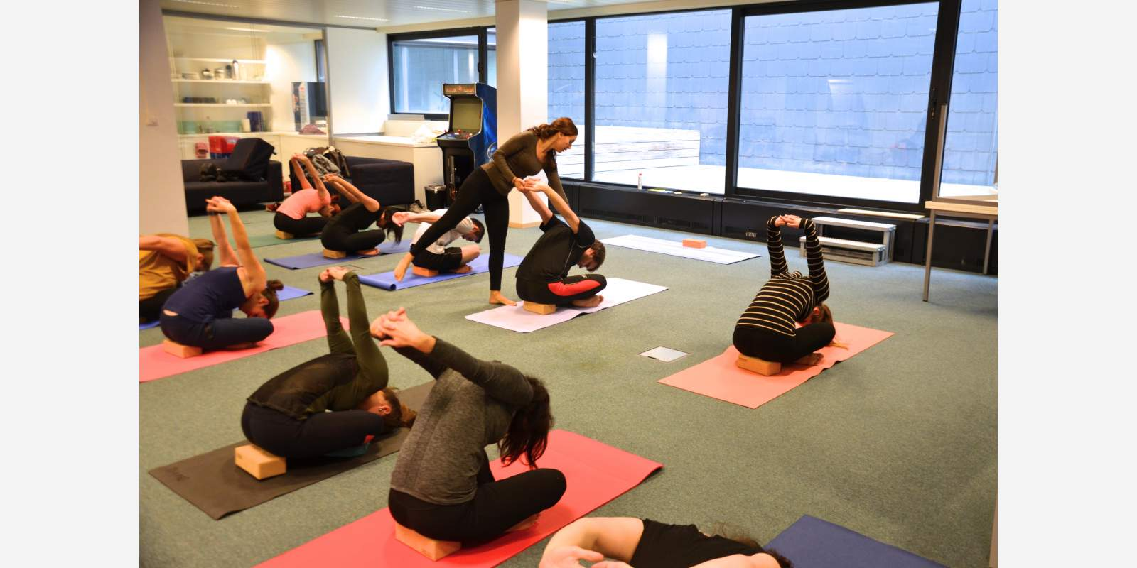 Office yoga